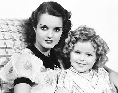 SHIRLEY TEMPLE & ROCHELLE HUDSON 8x10 still CURLY TOP -- (mo108) - Curly Mo