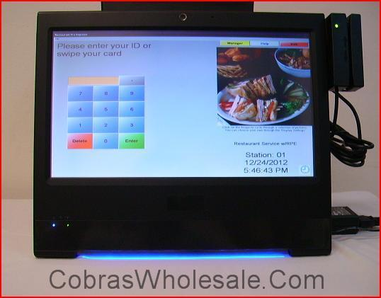 Point of Sale Restaurant Pizzeria Retail pcAmerica Complete POS RPE Brand New