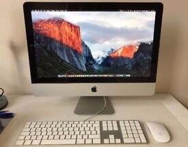 Apple iMac 21.5 2011 i5 16GB 128GB Solid State OS High Sierra Keyboard/Mouse
