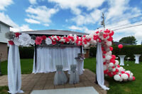 Wedding decoration/Paper Flowers backdrops