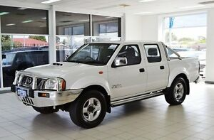 2010 Nissan Navara D22 MY08 ST-R (4x4) White 5 Speed Manual Dual Cab Pick-up Morley Bayswater Area Preview