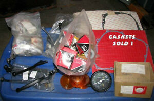 """Various Parts-Oil filters-Brake levers-Gaskets- Manuals-1980's"" Peterborough Peterborough Area image 4"