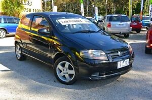 2008 Holden Barina TK MY08 Black 5 Speed Manual Hatchback Upper Ferntree Gully Knox Area Preview