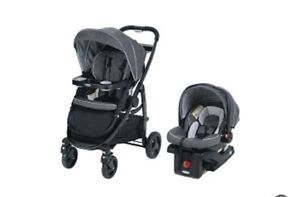 Graco 3 in 1 car seat and stroller