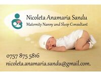 Maternity consultant offering support to new parents