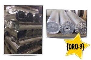 (DRO-9)  ISOLANTS à BULLES D'AIR (0.08$ /P.C)  24.00$ /Rouleaux