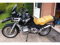 1995 BMW R1100 GS, 45k miles. Very Good Condition. MoT'd Until Late July 2017.