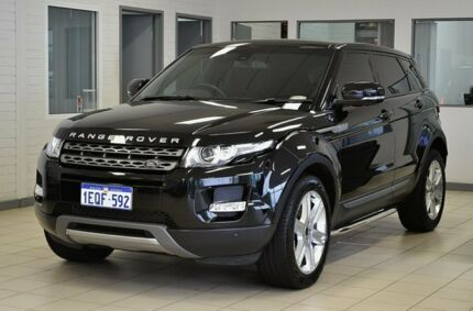 2013 Land Rover Evoque LV MY13 SD4 Pure Black 6 Speed Automatic Wagon Morley Bayswater Area Preview