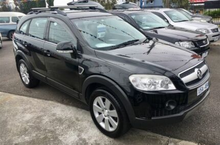 2007 Holden Captiva CG LX (4x4) Black 5 Speed Automatic Wagon Dandenong Greater Dandenong Preview