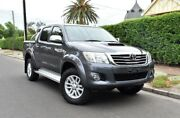 2013 Toyota Hilux KUN26R MY12 SR5 Double Cab Grey 4 Speed Automatic Utility Medindie Walkerville Area Preview
