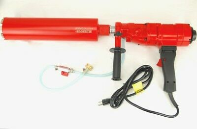 Bluerock Tools 4 Z-1 Concrete Coring Drill 2 Speed 1-4 Core Bit Set