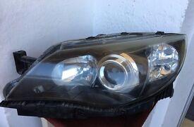 Subaru Impreza left side headlight