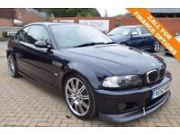 2003 52 BMW M3 3.2 M3 2D 338 BHP FSH E46 M3 MANUAL COUPE
