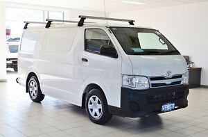 2010 Toyota Hiace KDH201R MY07 Upgrade LWB White 5 Speed Manual Van Morley Bayswater Area Preview