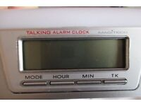 BRAND NEW! Magitech LCD Talking clock (Model 6737). Cheap!
