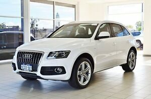 2012 Audi Q5 8R MY12 2.0 TFSI Quattro White 7 Speed Auto Dual Clutch Wagon Morley Bayswater Area Preview