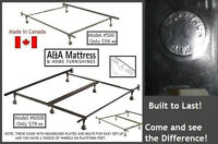 NEW METAL BED FRAMES Canadian Made BUILT TO LAST! SAVE THE TAX!!