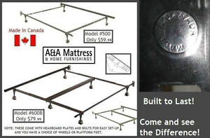 NEW METAL BED FRAMES Canadian Made & BUILT TO LAST!