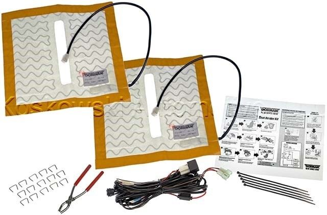 details about dorman 628-040 universal heated seat element pad kit heater  power warmer
