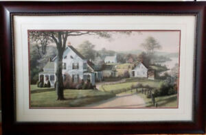 Framed Art Print 'Reminiscing'by Bill Saunders signed in a plate