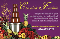Chocolate Fountain - Rental currently at 50% OFF