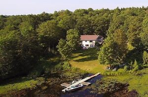 Waterfront Home on 23 Acres of Privacy!