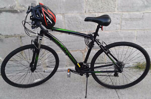 Bike almost new, excellent deal