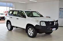 2012 Toyota Landcruiser Prado KDJ150R 11 Upgrade GX (4x4) White 6 Speed Manual Wagon Morley Bayswater Area Preview