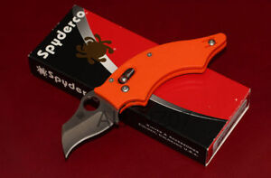 Spyderco Dodo C80GPOR Orange G-10, CPM-S30V Sprint Run, Rare Kitchener / Waterloo Kitchener Area image 1