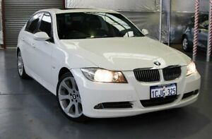 2006 BMW 325i E90 Steptronic White 6 Speed Sports Automatic Sedan Myaree Melville Area Preview