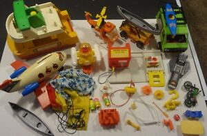 Huge Vintage Fisher Price Toy Collection! Grand Bend