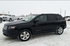 GO ANYWHERE IN A JEEP!! 2014 Jeep Compass North 4X4