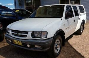 2001 Holden Rodeo TF LX White Manual Utility Fyshwick South Canberra Preview