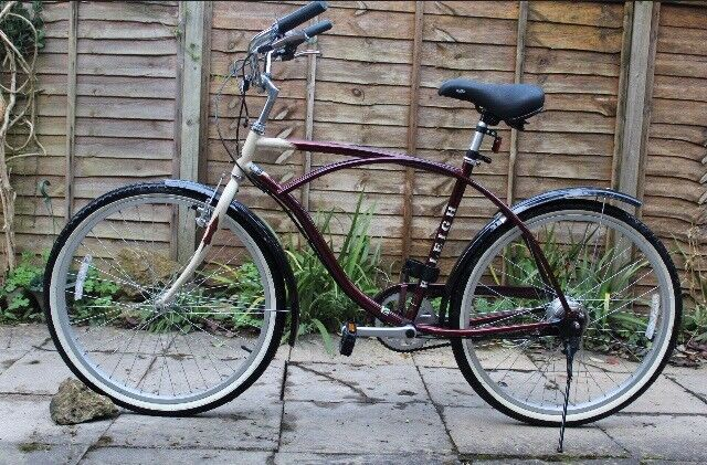 Raleigh old style bike