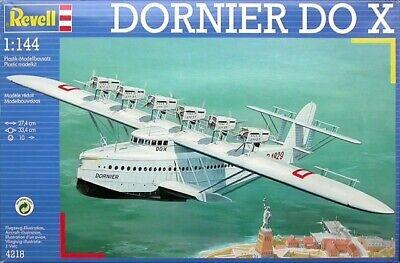 Maqueta 1:144 hidroavión Dornier Do X marca Revell ref: 4218 NUEVA