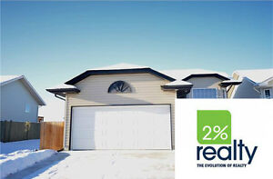 5 Bdrm Home With Attached Garage - Listed By 2% Inc.