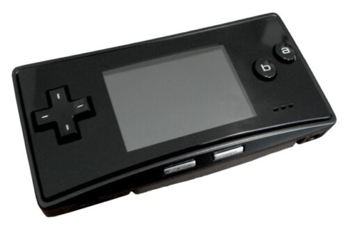 BRAND NEW Faceplate for Original Nintendo Game Boy Micro GBM Black