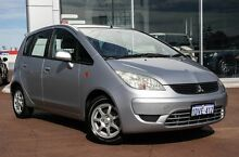 2008 Mitsubishi Colt RG MY08 ES Silver 5 Speed Manual Hatchback Mindarie Wanneroo Area Preview