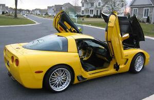 MRR GT1 Wheels For Chevrolet Corvette C5 18 X 8.5
