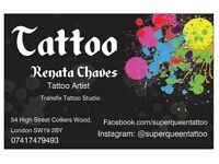 Tattoo in Colliers Wood