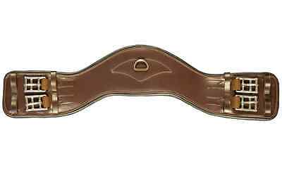 NEW Total Saddle Fit Shoulder Relief Dressage Girth - Brown - 22""