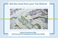Personal Income Tax and E-filing for 2018 starting from $25.00