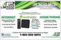 Unlimited TV Shows, Unlimited Movies, Unlimited Sports
