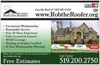 Professional Roofing Installations, Best Price!