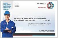 NETTOYAGE DE CONDUITS D AIR, MEILLEUR PRIX GARANTIE