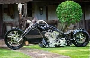 1975 Custom Harley Chopper Couridjah Wollondilly Area Preview