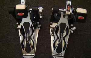 Gibraltar double bass pedals direct drive
