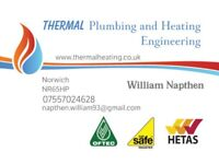 THERMAL plumbing and heating engineer, servicing, maintenance, gas safe