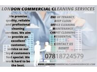 London Commercial CLEANING SERVICES
