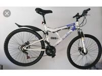 Silver Fox LX One Dual Suspension Dual Disc Brake Mountain Bike Bicycle